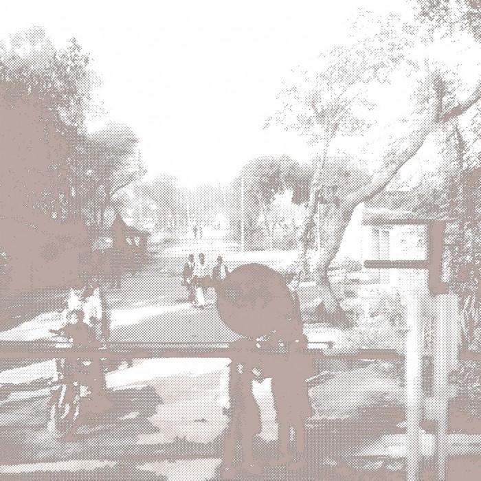 035 Jodhpur Benares 104x180 cm encre de Chine 2016
